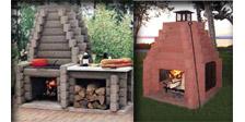 Brique et pierre am nagement paysager for Foyer brique exterieur